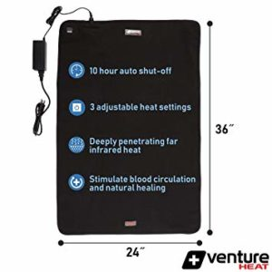 venture heat far infrared heating pad