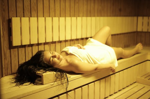 infrared sauna calories burned